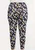 Plus Size Daisy Dream Cropped Leggings alternate view