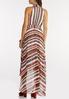 Stripe High- Low Maxi Dress alternate view