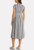 Stripe Linen Midi Dress alternate view