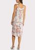 Plus Size Blush Floral Slip Dress alternate view
