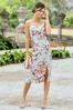 Plus Size Blush Floral Slip Dress alt view
