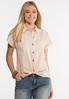 Pink Textured Shirt alt view