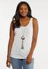 Plus Size Ivory Lace Cardigan Set alt view