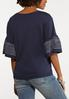 Stitch Bell Sleeve Top alternate view