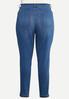 Plus Size Fray Hem Uplifting Jeans alternate view