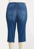 Plus Size The Perfect Curvy Cropped Jeans alternate view