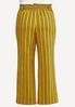 Plus Size Striped Paperbag Pants alternate view