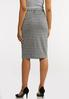 Gingham Tie Pencil Skirt alternate view