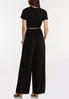 Plus Size Smocked Belted Waist Jumpsuit alternate view