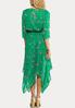 Plus Size Floral Hanky Hem Dress alternate view