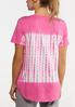 Pink Tie Dye Tee alternate view