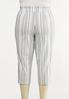 Plus Size Stripe Bengaline Pants alternate view