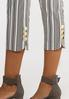 Striped Cropped Pants alt view