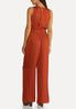 Petite Silky Dotted Jumpsuit alternate view
