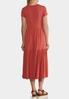 Casual Tiered Midi Dress alternate view