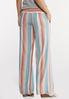 Citrus Stripe Linen Pants alternate view