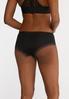 Plus Size Black White Hipster Panty Set alt view