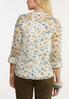 Floral Lace Pullover Top alternate view
