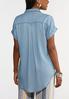 Chambray Roll Sleeve Shirt alternate view