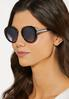 Classic Black Round Sunglasses alternate view