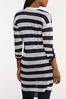 Navy Stripe Cardigan Sweater alternate view