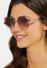 Beveled Round Sunglasses alternate view