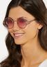 Beaded Frame Round Sunglasses alternate view
