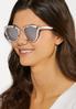 Marbled Mirror Lens Sunglasses alternate view