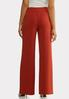 Petite High- Rise Trouser Pants alternate view