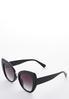 Wide Frame Cateye Sunglasses alt view
