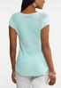 Plus Size Mint Pullover Sweater alternate view