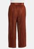 Plus Size Pleated Pants alternate view