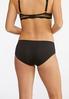 Plus Size Lacey Snakeskin Panty Set alt view