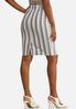 Stripe Pencil Skirt alternate view