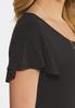 Plus Size Flutter Sleeve Swing Dress alt view