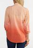 Coral Dip Dye Shirt alternate view