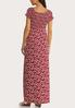 Plus Petite Smocked Floral Maxi Dress alternate view