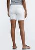 White Distressed Shorts alternate view