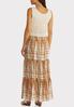 Petite Crochet Top Maxi Dress alternate view