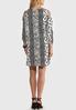 Animal Stripe Cold Shoulder Dress alternate view