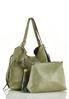 Green Tasseled Hobo Handbag alternate view