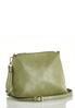 Green Tasseled Hobo Handbag alt view