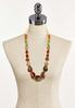 Multi Chunky Bead Long Necklace alternate view