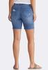 Distressed Jean Shorts alternate view
