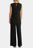 Plus Size Black Pleated Pant Set alternate view