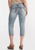 Shape Enhancing Cropped Jeans alternate view