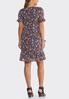 Plus Size Ruffled Floral Flounce Dress alternate view
