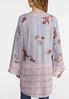 Plus Size Sweet Lavender Kimono alternate view
