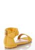 Golden Ankle Strap Sandals alternate view