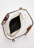 Lucite Wood Bead Tote alt view